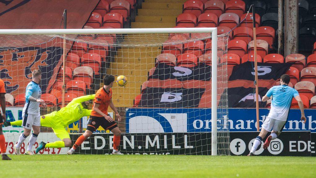 Alex Iacovitti scored the vital first goal for County.