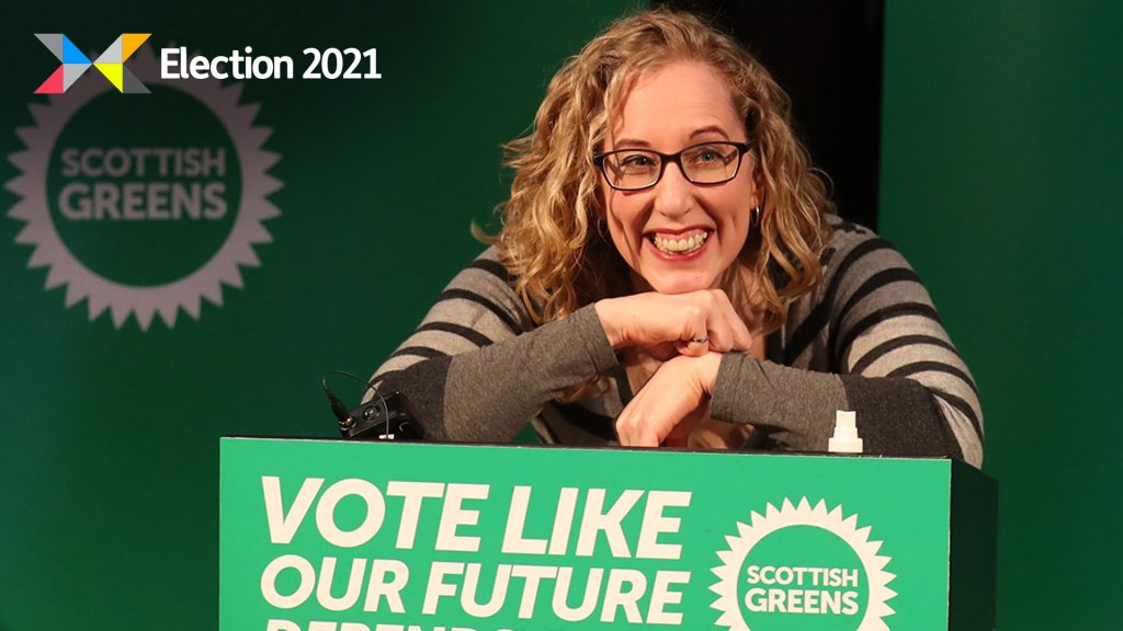 Scottish Greens co-leader Lorna Slater.