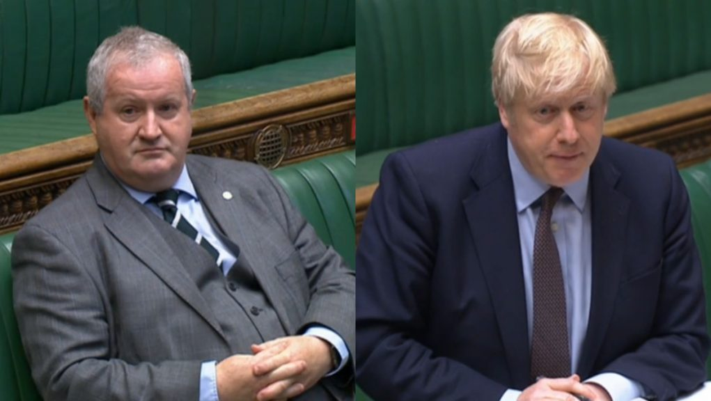Ian Blackford said that there is