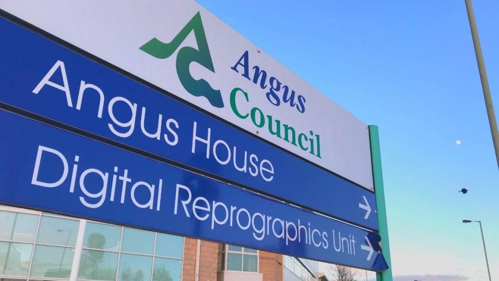 Extra support: Angus Council has signed off on using £1.171m.