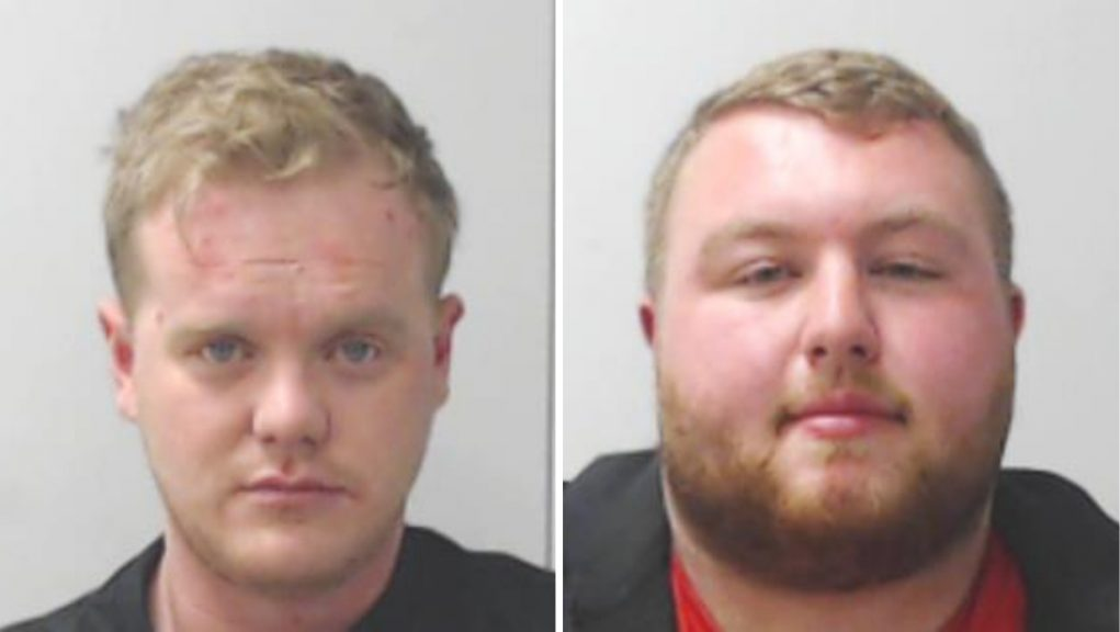 Scott Roddie (left) and Connor Holmes (right) were jailed for their roles in the supply and importation of controlled drugs.