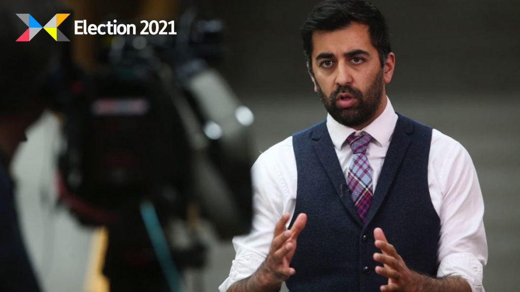 Yousaf was approached by a Liberal Party candidate and supporters on Friday.