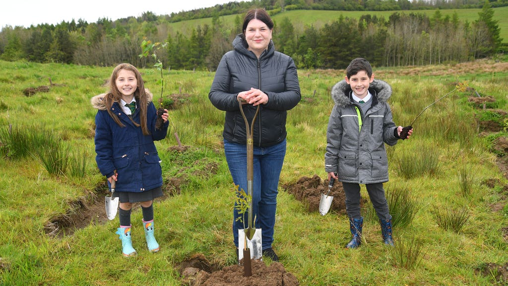 New urban forest to be planted in and around Glasgow.