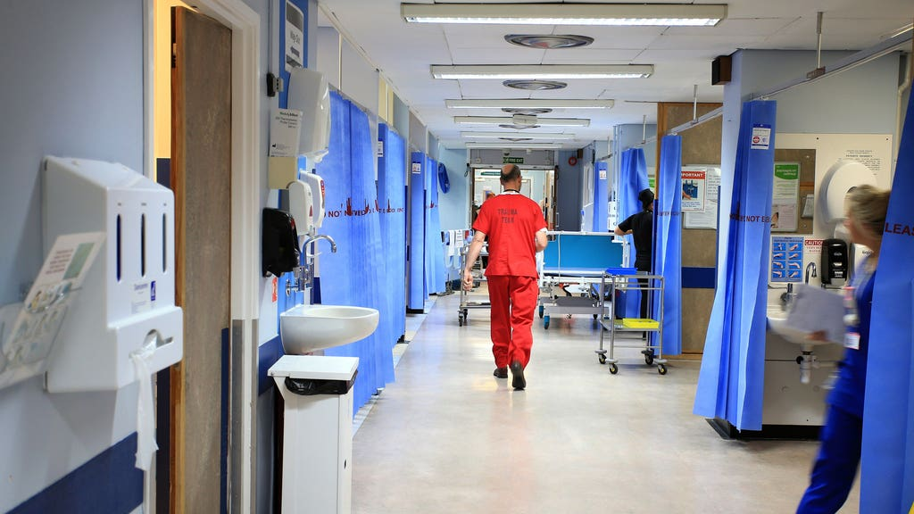 The number of patients waiting a year or more for planned hospital treatment reached 28,203 at the end of March.