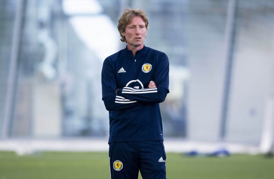 Gemmill: Backing young Scots to shine at Euros.