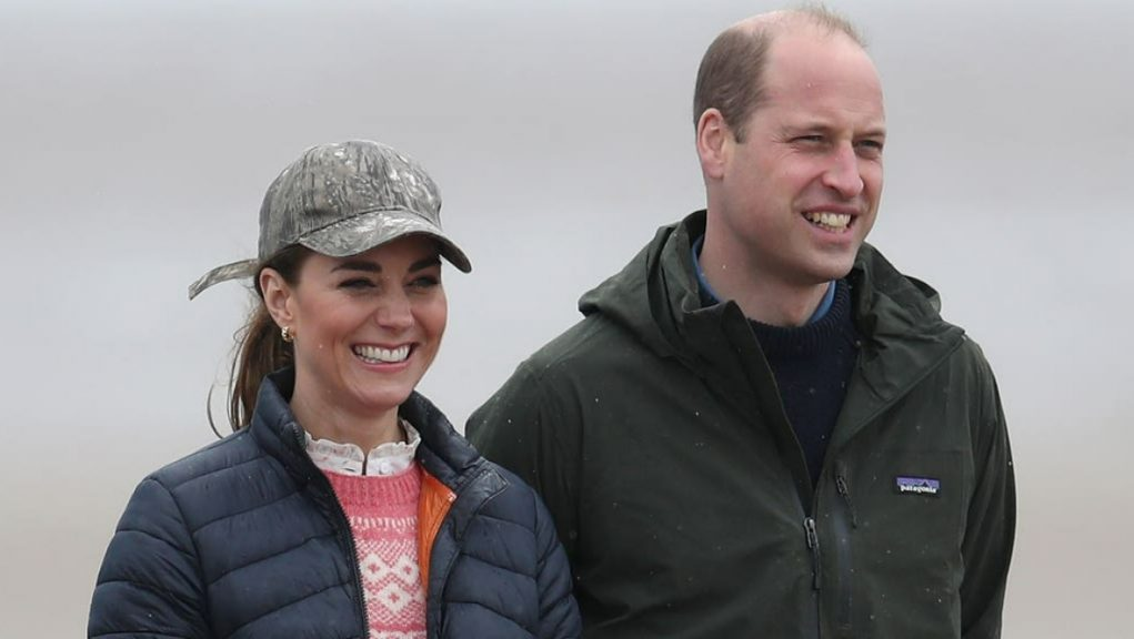Royal: The Duke and Duchess of Cambridge visited St Andrews.