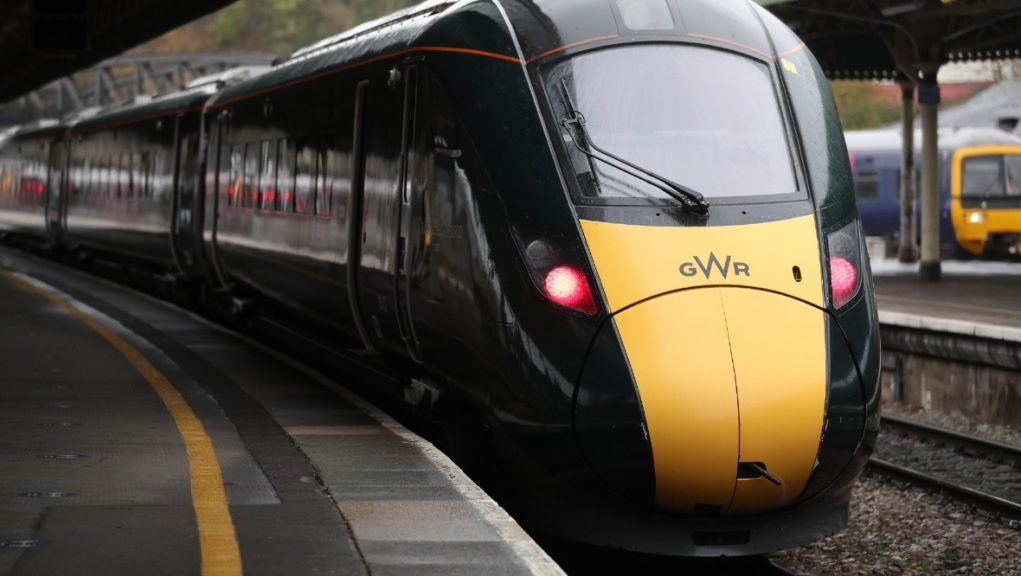 Disruption: High-speed trains taken out of service.