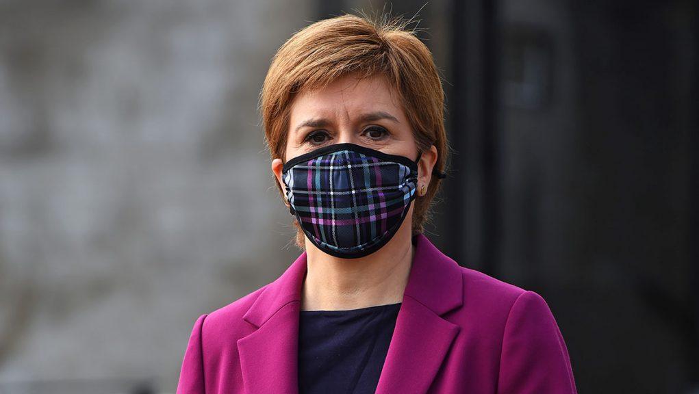 The FM gave a Ted Talk in Edinburgh on Wednesday.