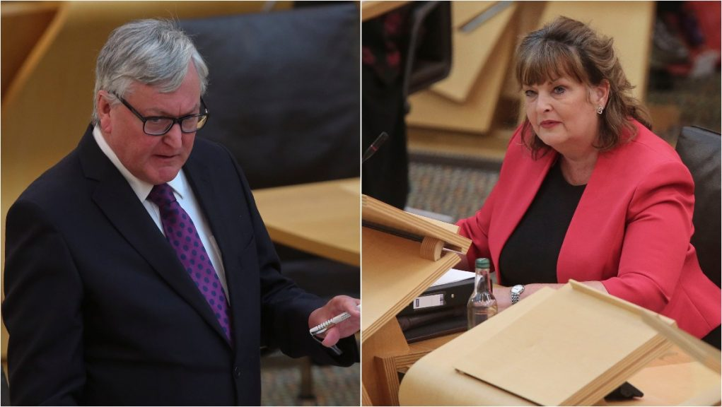 Fergus Ewing and Fiona Hyslop are leaving the Scottish Government.