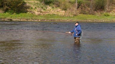 Salmon season begins on the River Tay.