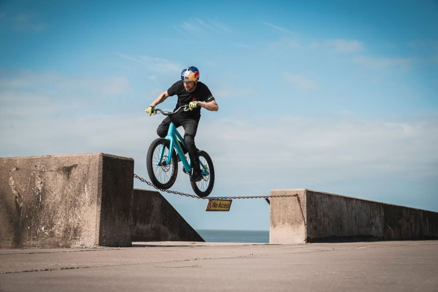 Danny MacAskill releases new tricks video to inspire next generation.