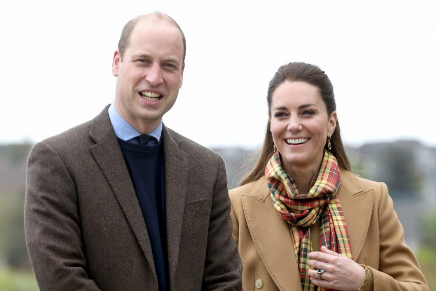 The Duke and Duchess of Cambridge visit Orkney to open a new hospital.