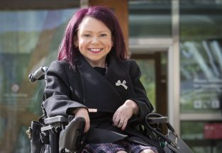 Pam Duncan-Glancy vows to fight for disability rights in maiden speech.