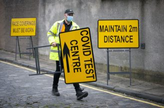 Lockdown easing may have to be delayed in Moray amid outbreak.