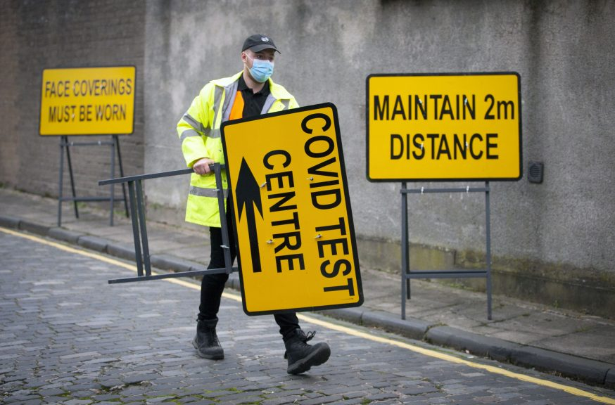 Experts warn that lockdown easing may have to be delayed in Moray.