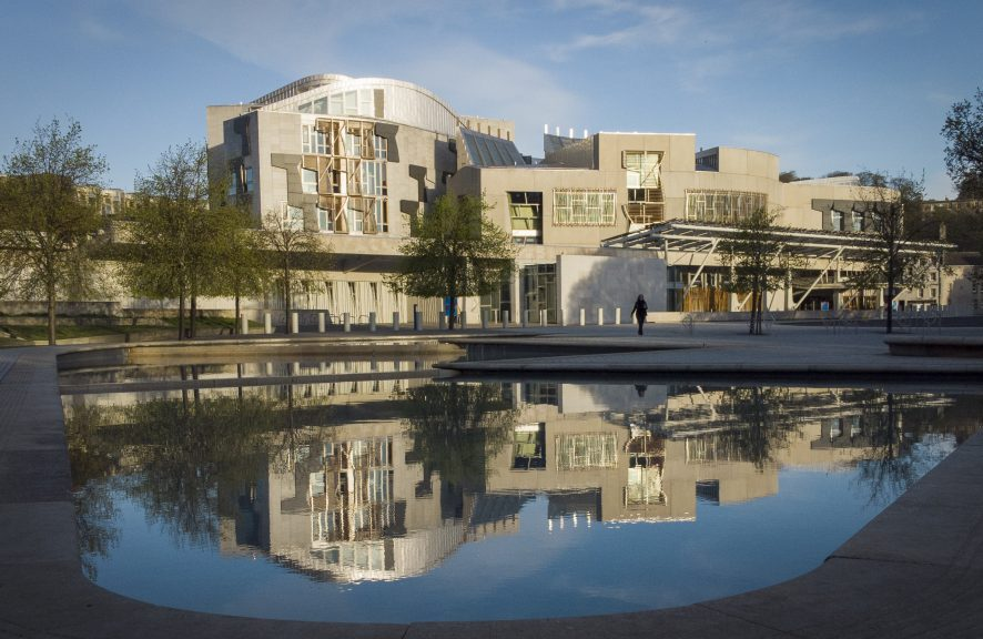 New MSPs arrive for 'first day of school' at Scottish Parliament.