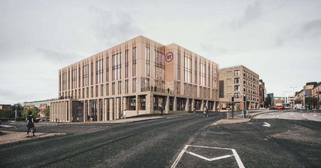 The proposed building, announced on Tuesday, is described as future-fit and state-of-the-art.