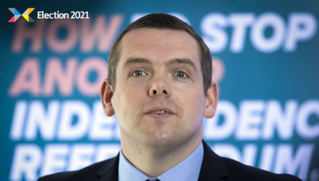 Douglas Ross: First election as Tory leader.