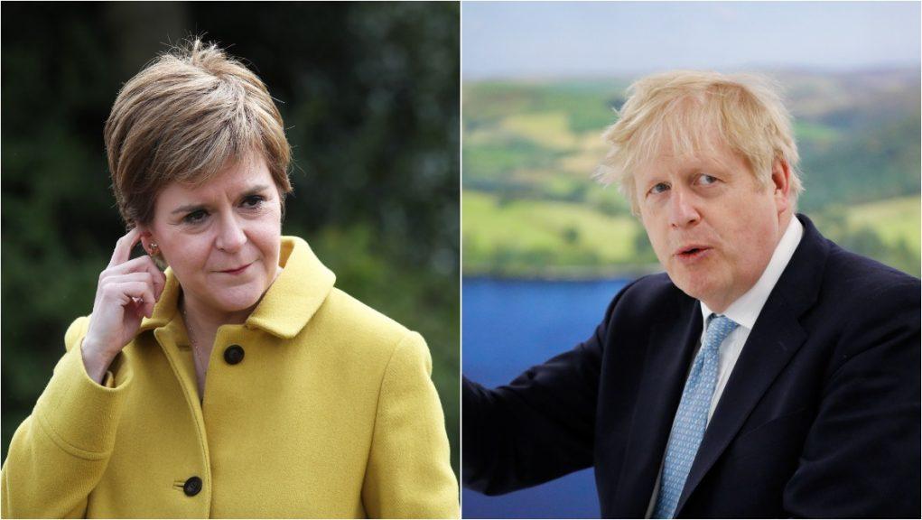 Nicola Sturgeon has urged Boris Johnson to increase the number of Afghan refugees.