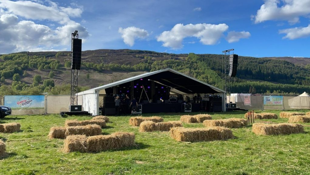 The stage is set for the first festival of the year.