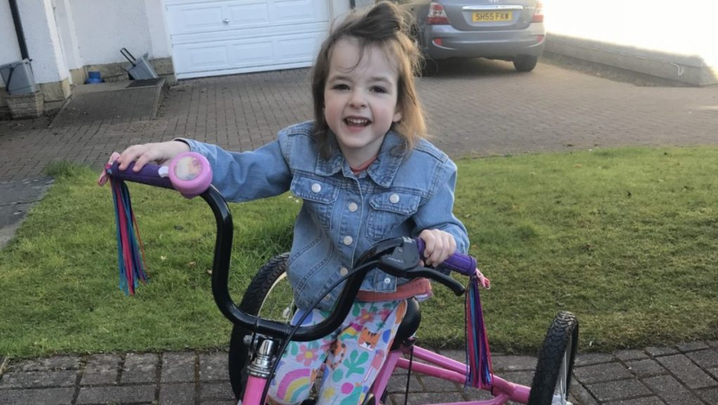Ella: Plea for funds to help youngster be able to walk.