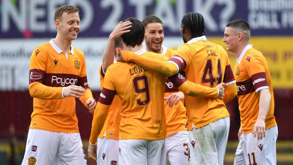 Devante Cole scored to put Motherwell on the road to victory.