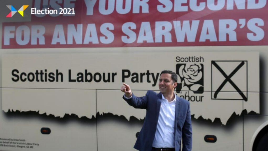 Sarwar: Aiming to overtake Tories.