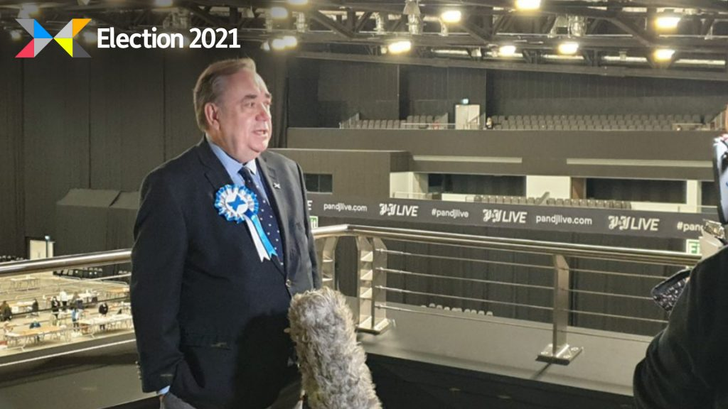Salmond's party failed to pick up a seat in the region after winning just 8269 votes