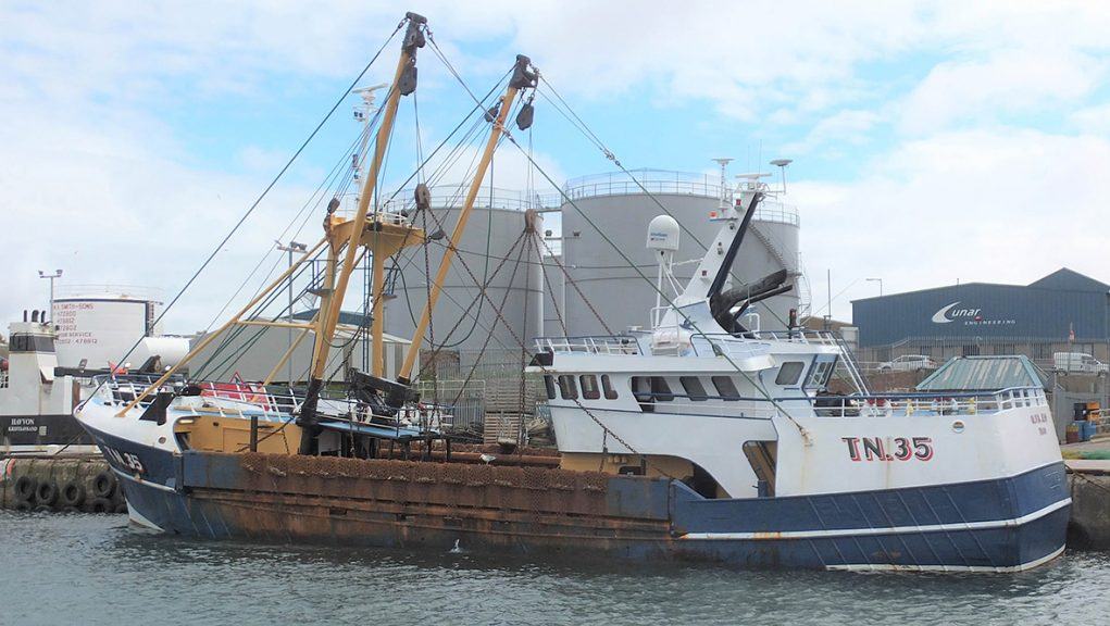 Crewman working on board a scallop dredger was fatally injured