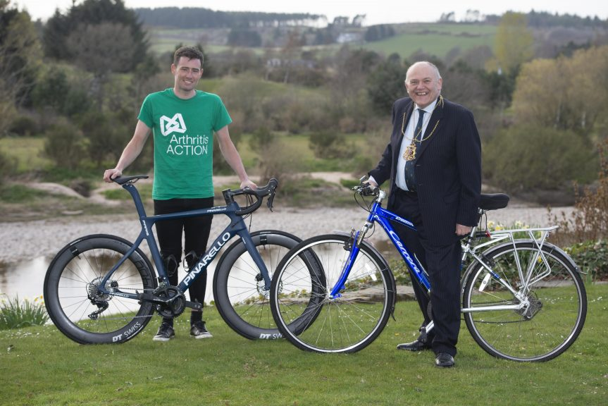 Josh Quigley: Raised £10,000 for Arthritis Action.