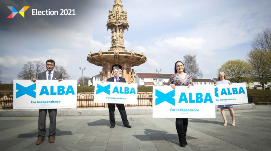 The Alba Party launched in March.