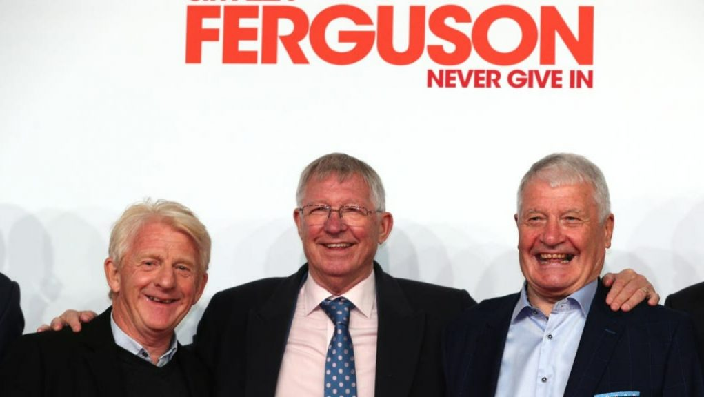 Never Give In: The film about Sir Alex Ferguson's life can be seen from May 29.