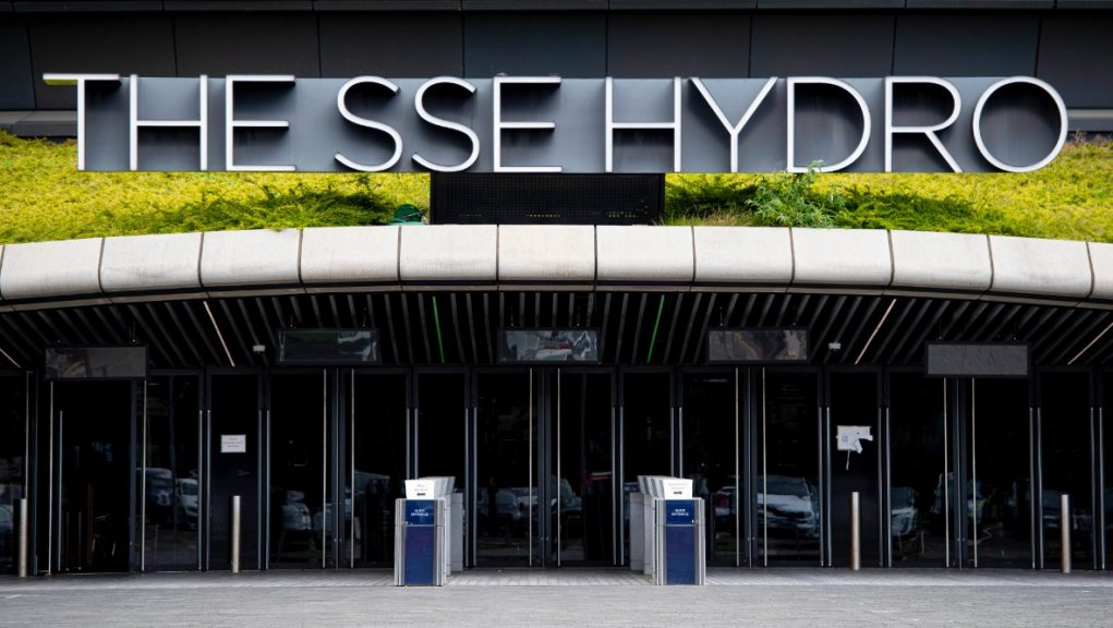 Glasgow: The Hydro took over as a vaccination centre from the NHS Louisa Jordan.