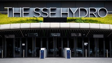 GLASGOW, SCOTLAND - JUNE 24: A general view of the SSE Hydro during the ongoing coronavirus pandemic, on June 24, 2020, in Glasgow, Scotland.