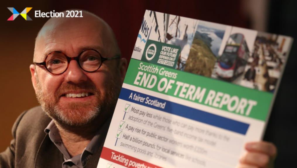Harvie: Co-leader of Scottish Greens.