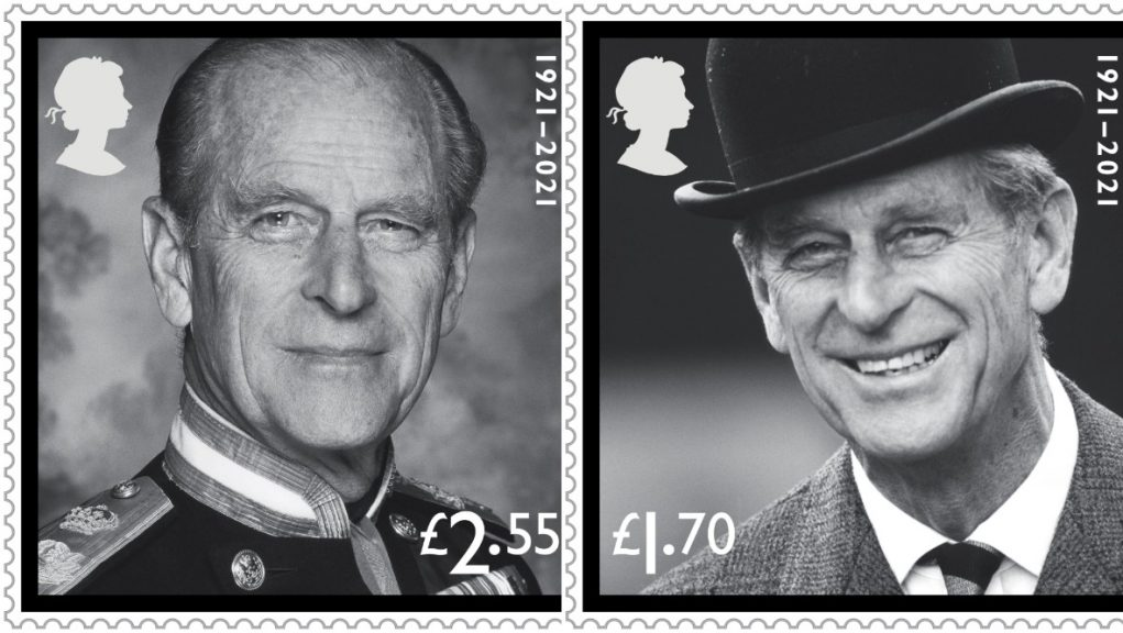 New stamps issued in memory of Duke of Edinburgh will be on sale from June 24.