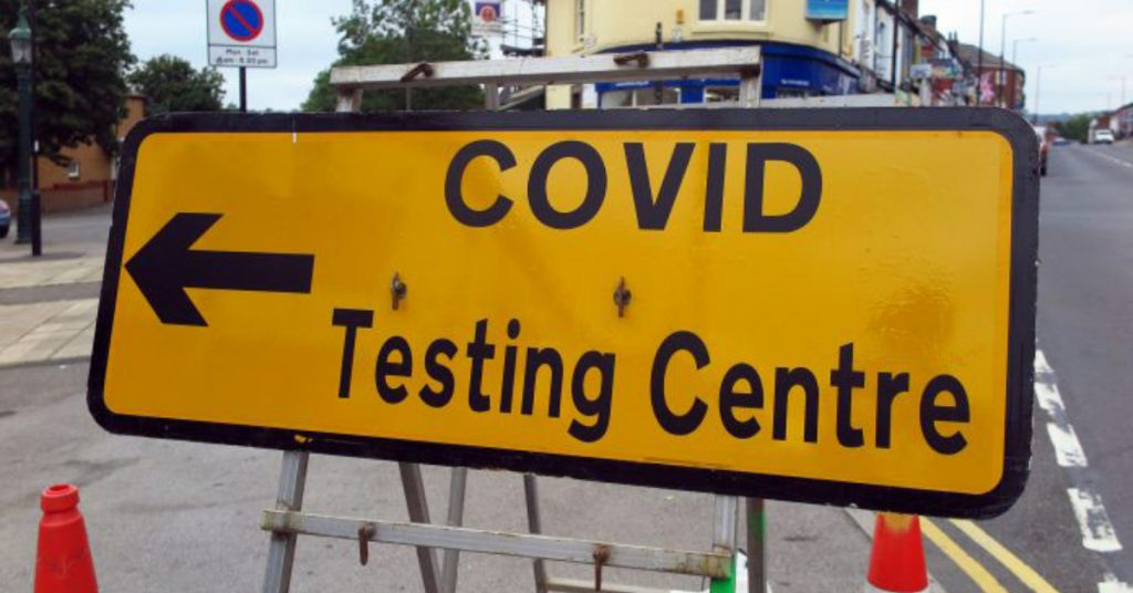 Wee County: NHS Forth Valley said more than 1500 residents in Tullibody had responded to its appeal to get tested.