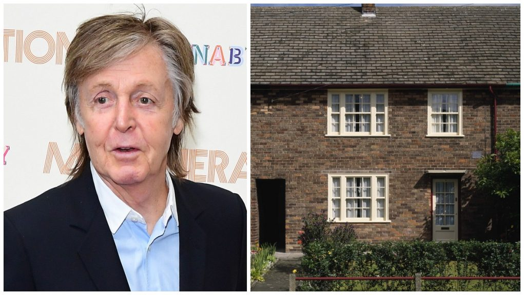 Investigation: The lino furnished Sir Paul McCartney's childhood home.