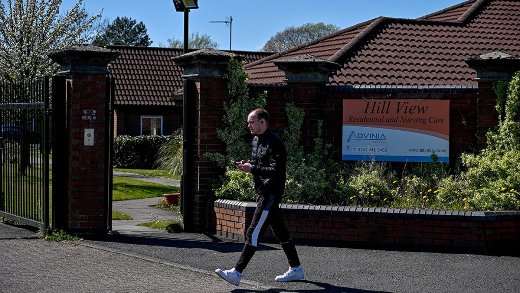Hillview care home in West Dunbartonshire was one of the worst-affected care homes.