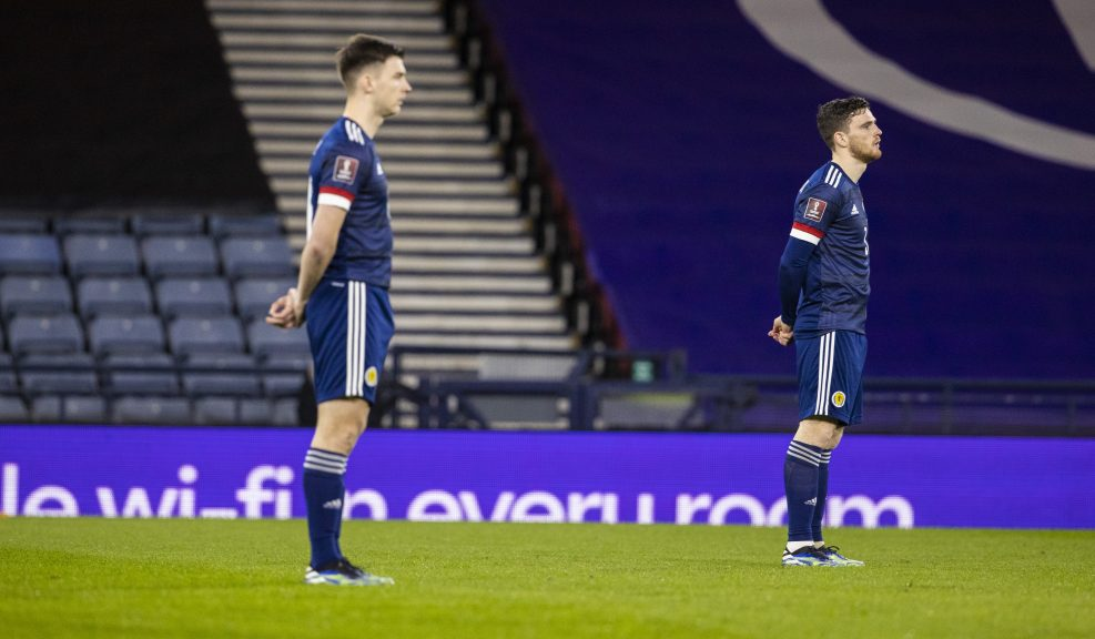 Taking a stand: Scotland stars will 'stand up' to racism.