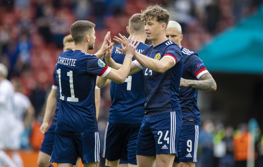Scotland: Will be 'underdogs' against England.