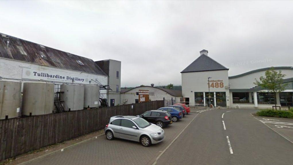 Tullibardine Distillery: Police were called on Thursday night.