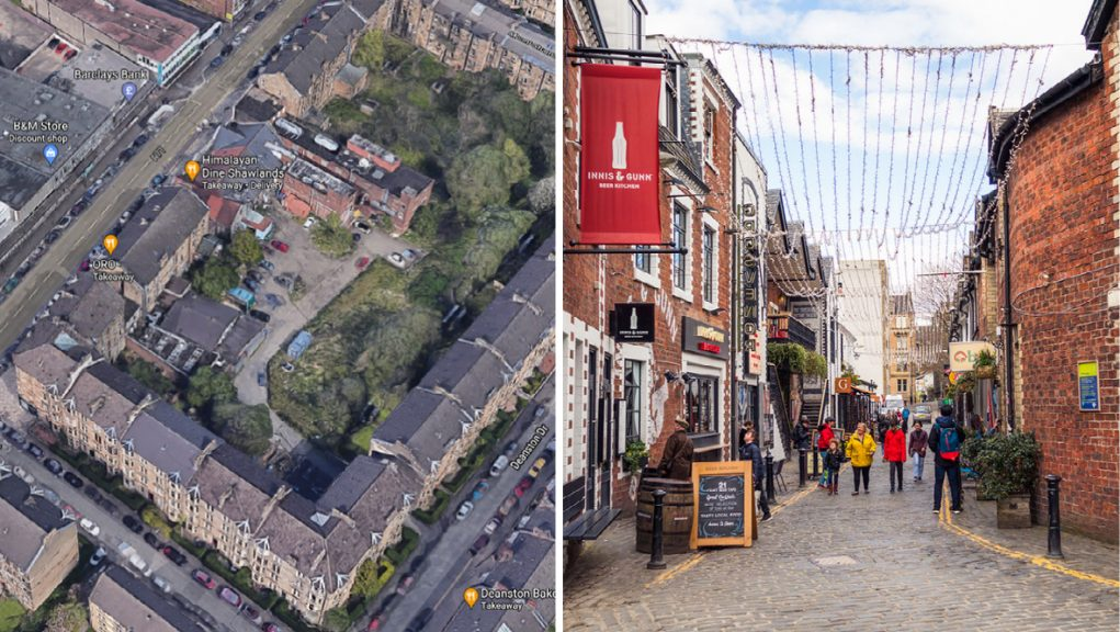 Domenico Crolla wants to turn the courtyard behind his restaurant into the 'south side equivalent of Ashton Lane'.