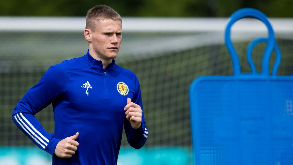 McTominay welcomed news that Kieran Tierney is fit and available.
