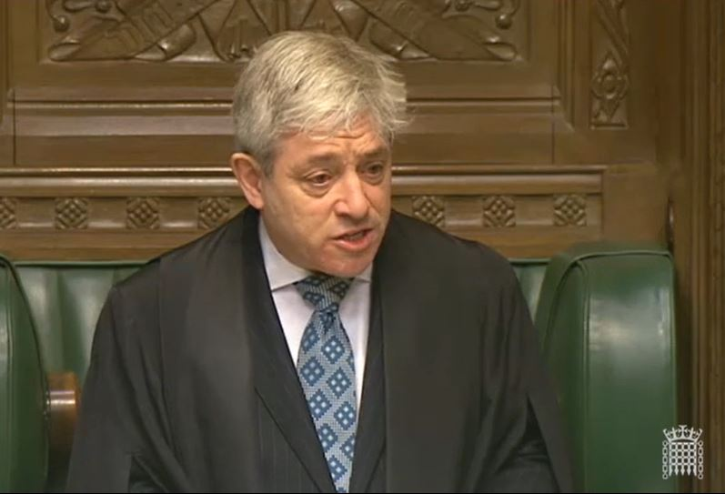 Having stepped down as Speaker in 2019, he announced on Saturday that he joined Labour in recent weeks.