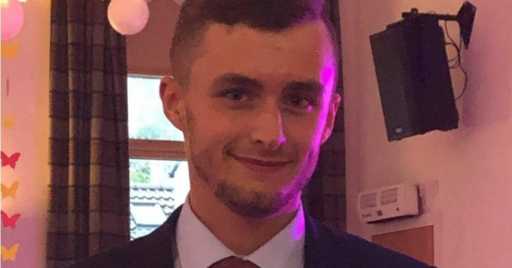Liam Lacon died after a motorbike he was riding was involved in a crash near Plean in Stirlingshire.