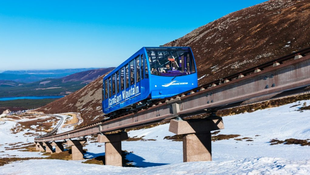 Cairngorm Mountain: The funicular railway will be reinstated.