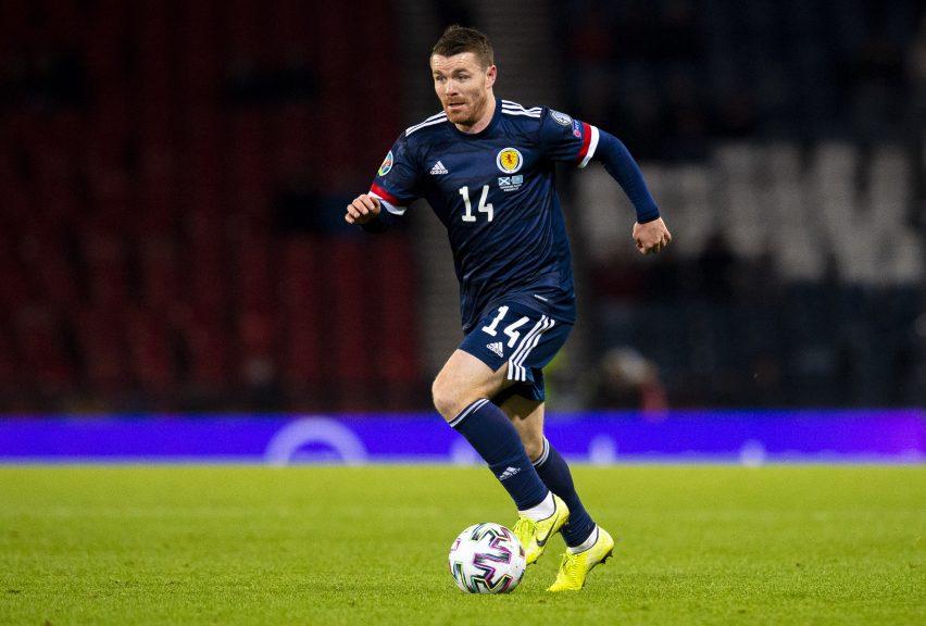 Fleck: Reunited with Scotland squad.
