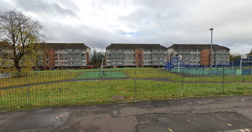 Glasgow: The incident happened on Lenzie Terrace in Springburn.