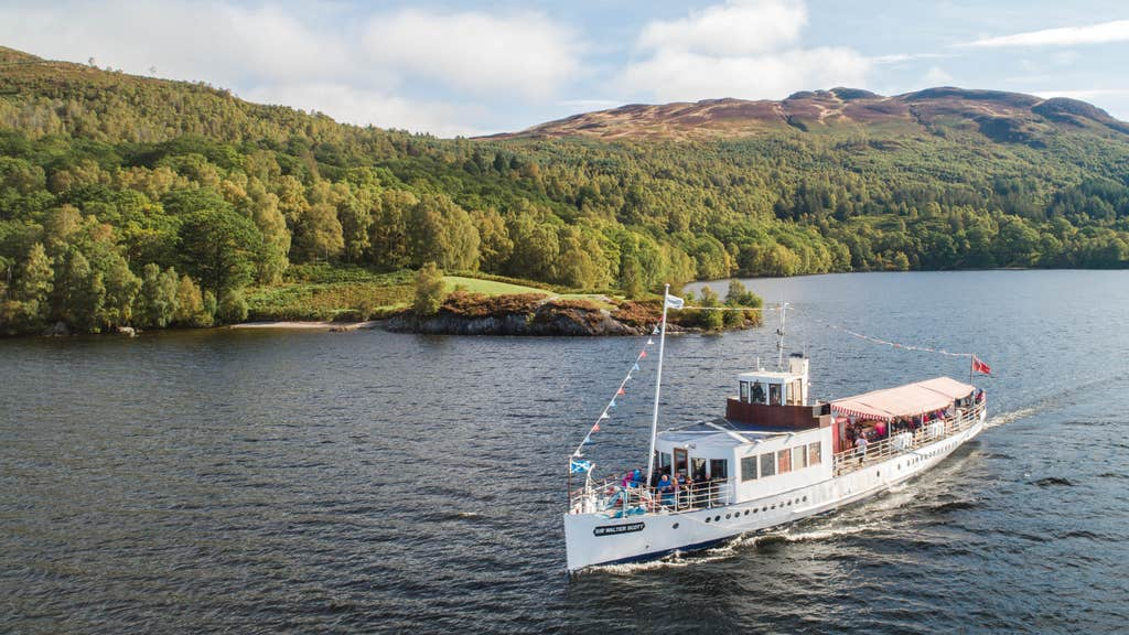 The 121-year-old steamer requires a new boiler and other significant repairs having not sailed on Loch Katrine since it was condemned in January 2020.